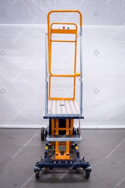 Blattpflückwagen Berg Hortimotive   Bild 5