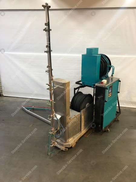 Spray robot Meto + Transporter