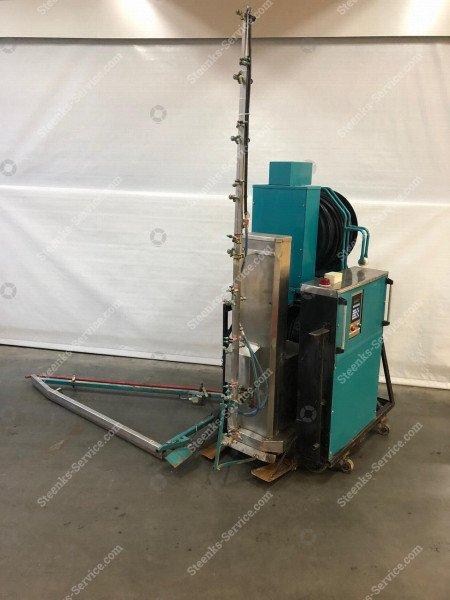 Spritz Roboter Meto + Transportierwagen   Bild 2