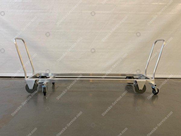 Transport trolley aluminium 187 cm. | Image 2