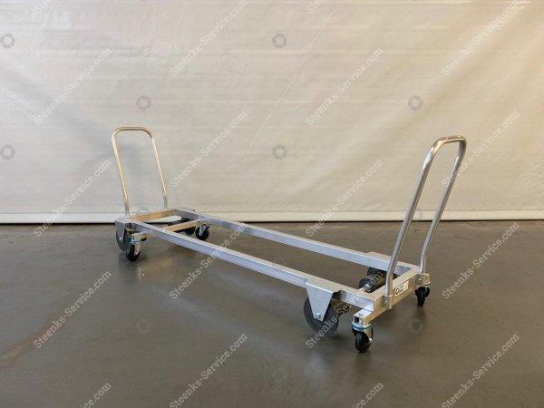 Transport trolley aluminium 187 cm. | Image 3