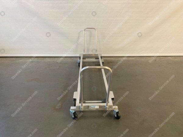 Transport trolley aluminium 187 cm. | Image 4