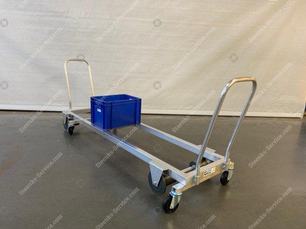 Transport trolley aluminium 187 cm. | Image 5