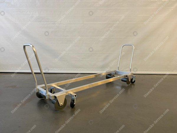 Transportierwagen aluminium 187 cm.