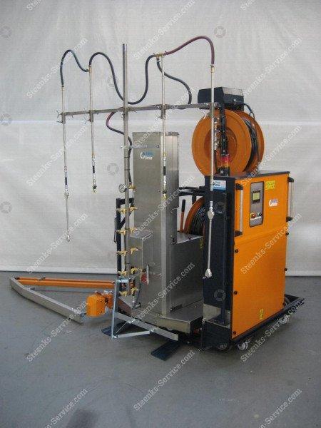 Spuitrobot Meto +transportwagen