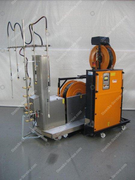 Spuitrobot Meto +transportwagen   Afbeelding 3