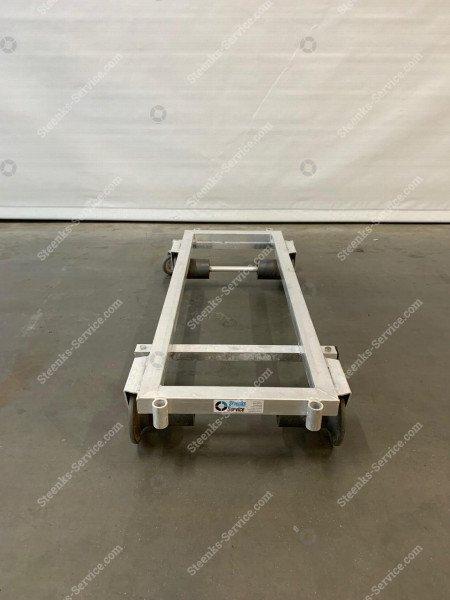 Transport trolley aluminium 127 cm. | Image 3