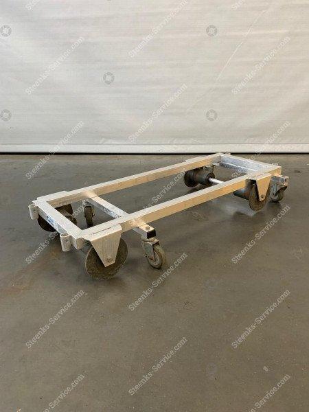 Transport trolley aluminium 127 cm. | Image 4