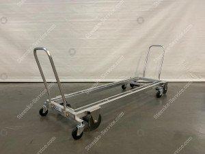 Transport trolley aluminum 187 cm.