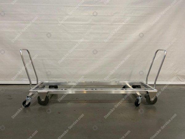 Transport trolley aluminum 187 cm.   Image 2