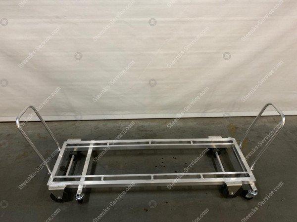 Transport trolley aluminum 187 cm.   Image 3