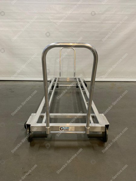 Transport trolley aluminum 187 cm.   Image 4