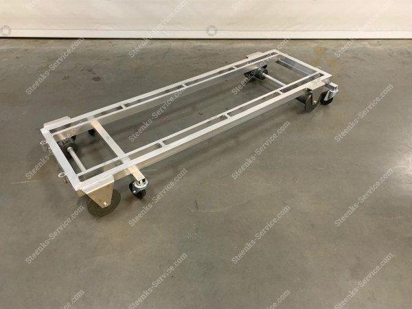 Transport trolley aluminum 187 cm.   Image 5