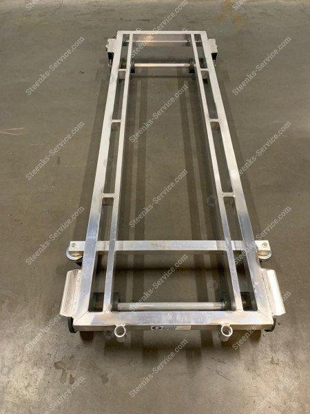Transport trolley aluminum 187 cm.   Image 6
