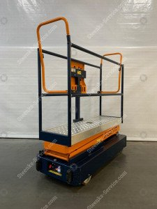 Pipe rail trolley Benomic Star 260