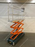 Pipe rail trolley Benomic 3-scissors