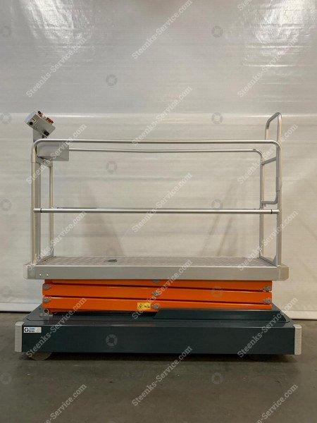 Rohrschienenwagen Benomic 3 Scheren | Bild 3