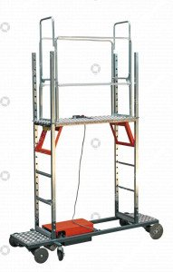 Pipe rail trolley Easykit