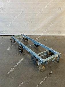 Transportwagen staal 167 cm.