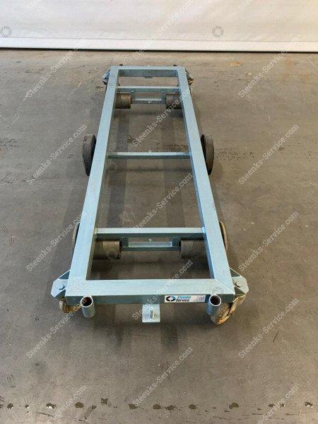 Transportwagen staal 167 cm.   Afbeelding 3