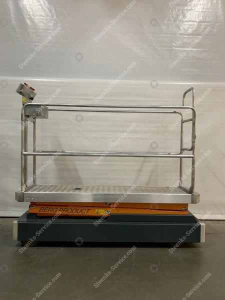 Pipe rail trolley Benomic 2-scissors   Image 4