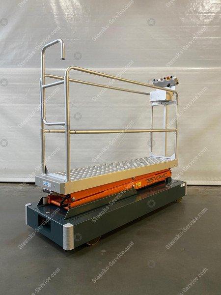 Rohrschienenwagen Benomic 2-Scheren   Bild 2