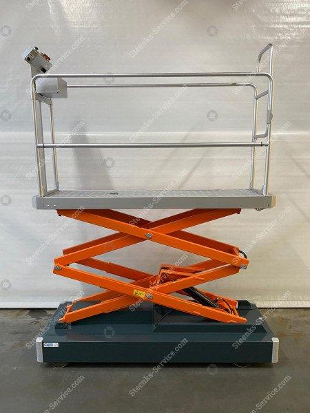 Rohrschienenwagen Benomic 2-Scheren   Bild 3