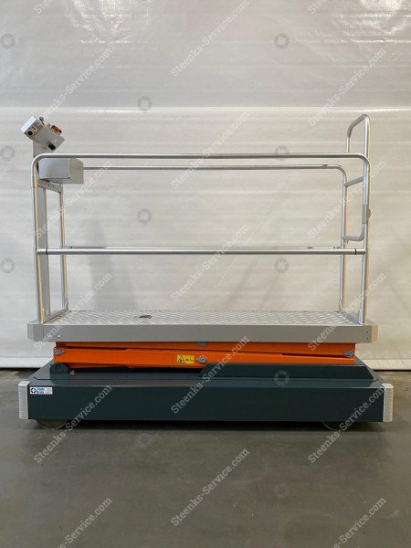 Rohrschienenwagen Benomic 2-Scheren   Bild 4