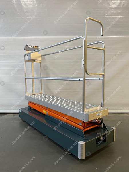 Rohrschienenwagen Benomic 2-Scheren   Bild 6