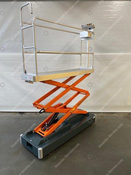 Rohrschienenwagen Benomic 2-Scheren