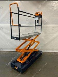 Pipe rail trolley Benomic Star