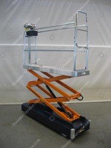 Pipe rail trolley Benomic 2-scissors
