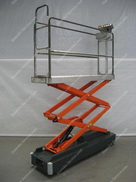 Buisrailwagen Benomic 2-schaar