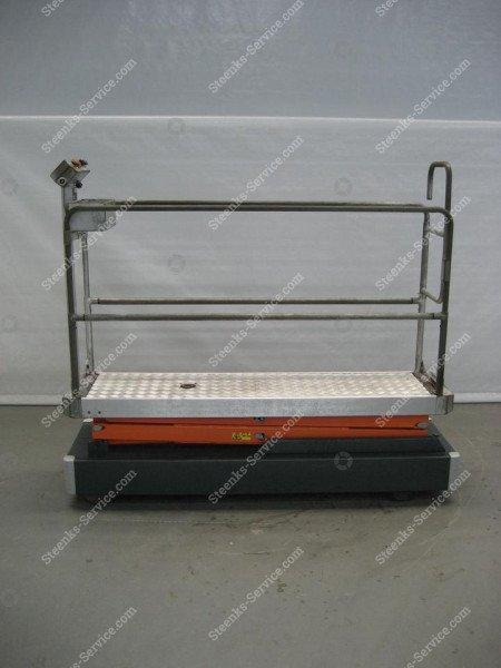 Pipe rail trolley Benomic 2-scissors | Image 4