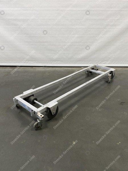 Transportierwagen aluminium 200 cm.
