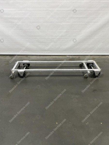 Transportwagen Aluminium 200 cm. | Afbeelding 2