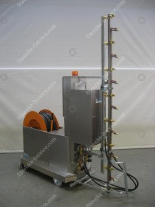 Dosing set for Sprayrobot Meto