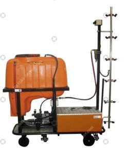 Spray trolley with 200 ltr. tank