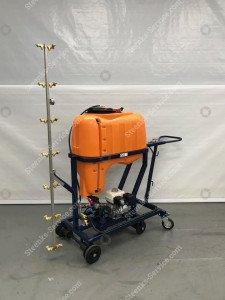 Spray trolley with 200 ltr. tank