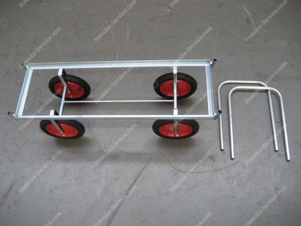Luchtbanden-oogstwagen staal | Afbeelding 7