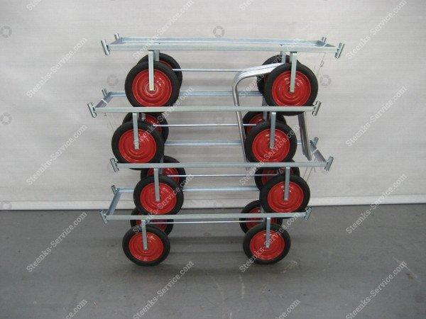 Luchtbanden-oogstwagen staal | Afbeelding 10