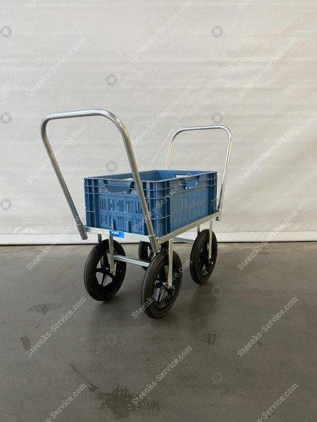 Erntewagen stahl mit Vollgummireifen | Bild 6