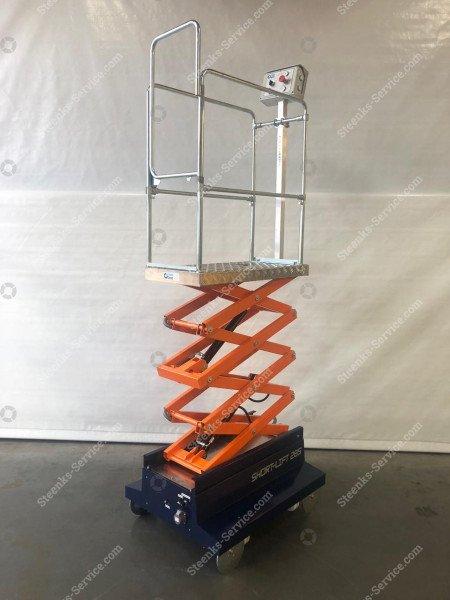 Buisrailwagen Short Lift 285 Steenks | Afbeelding 5