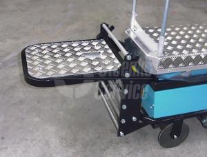 Staplateau tbv BRW170 Berg Hortimotive