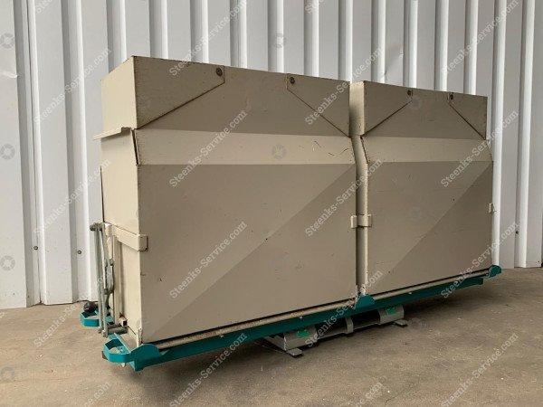 Set Trichterentladen Container