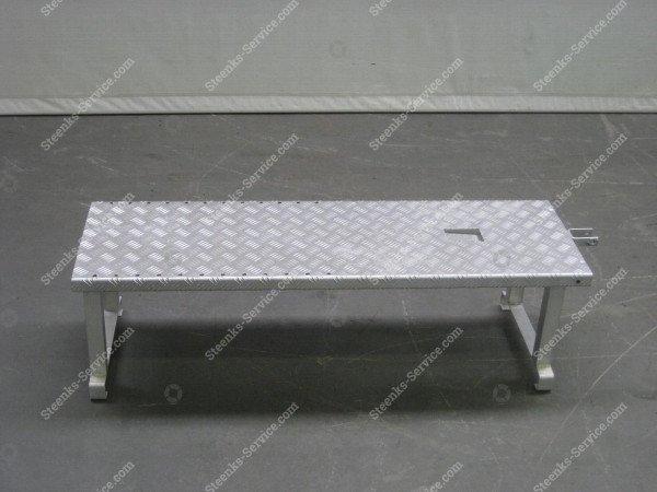 Opzetplateau aluminium   Afbeelding 2