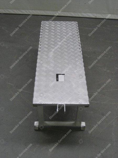Opzetplateau aluminium   Afbeelding 3