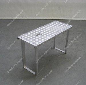 Lift platform aluminum