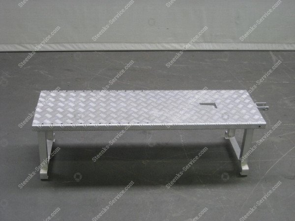Erhöh Plattform Aluminium   Bild 2