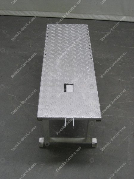 Erhöh Plattform Aluminium   Bild 3